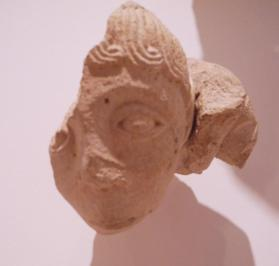 Fragment with head