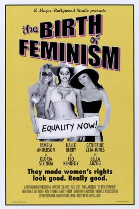 Birth of Feminism from the portfolio Guerilla Girls' Most Wanted: 1985–2008