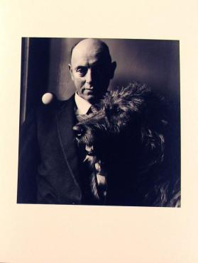John Grogan; A Patriot and his Dog from the portfolio Alen MacWeeney