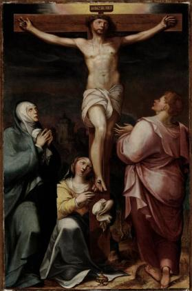 Crucifixion from Scenes from the life of Christ and the Virgin Mary