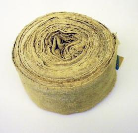Roll of Homespun Cloth