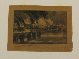 The Fall of Richmond on the Night of April 2, 1865