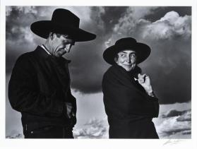 Georgia O'Keeffe and Orville Cox, Canyon de Chelly National Monument, Arizona
