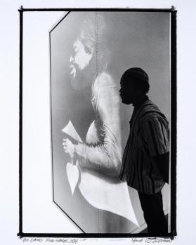 David, Four Spades (David Hammons with 'Three Spades,' 1971)