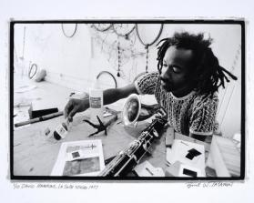 David Hammons, La Salle Studio