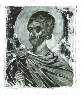 Half-Length Figure of a Saint