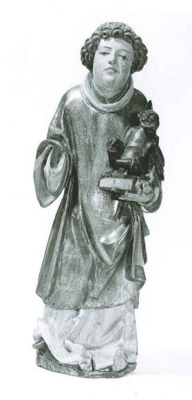 Statuette of St. Cyriacus