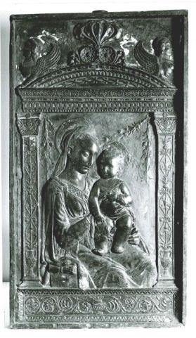 Relief of the Virgin and Child