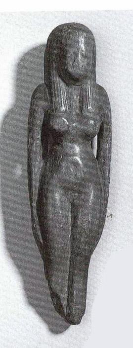 Figure of a nude female