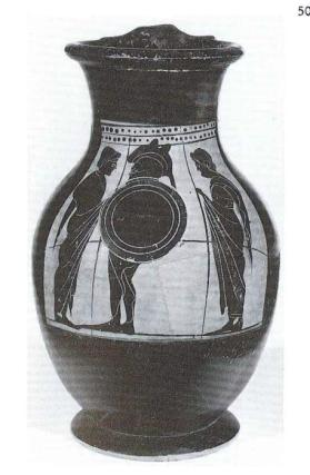 Black-figure olpe