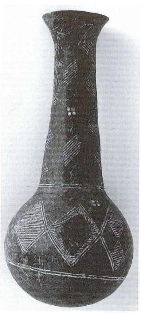 Bottle (red polished ware)