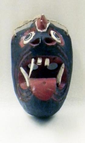 Dance mask in the form of a Devil
