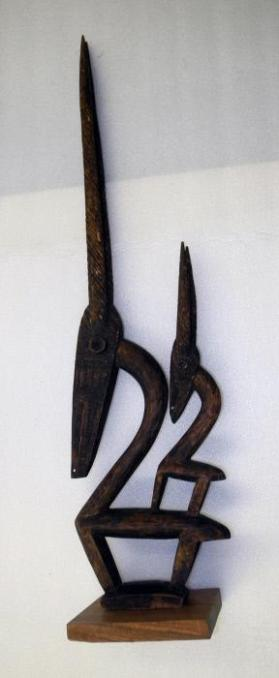 Chi-Wara Antelope Headpiece (Female)
