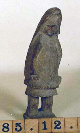 Carved Uchu (standing female figure)
