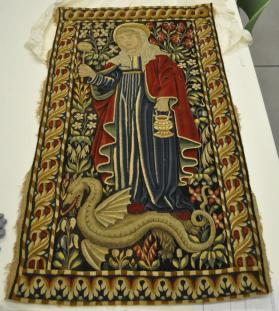 Tapestry Panel: Saint Margaret