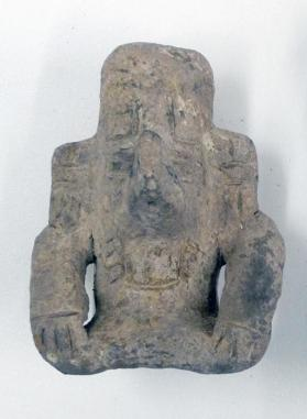 Urn in the form of the god Cocijo