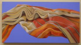 Wanton Wind: Billow in Orange and Red II