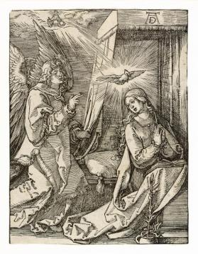The Annunciation from the series The Small Passion
