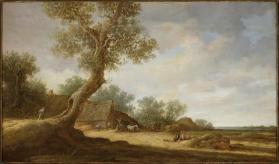 Landscape (after Jan van Goyen)