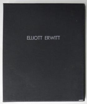 Clam shell porfolio case from the portfolio Photographs, Elliott Erwitt