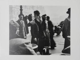 La Baiser du Trottoir from the portfolio Robert Doisneau