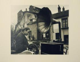 La Musique des Puces (Flea Market Music) from the portfolio Robert Doisneau