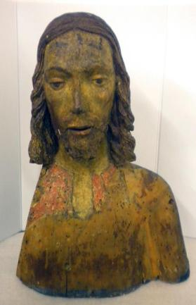 Bust of Christ, Fragment of a Palmesel