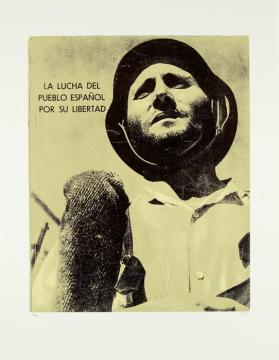 La Lucha del Pueblo from the portfolio In Our Time: Covers for a Small Library After the Life for the Most Part