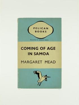 The Coming of Age in Samoa from the portfolio In Our Time: Covers for a Small Library After the Life for the Most Part