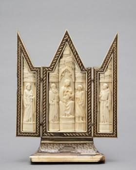 Triptych of the Virgin and Child with Saints