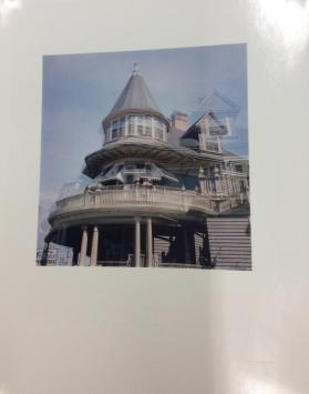 Providence (multiple exposure -- tower, balcony and porch of Victorian House)