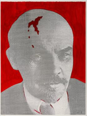Lenin with Mark of Gorby
