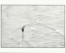Waves, Brighton from the portfolio Photographs, Elliott Erwitt