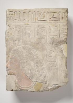 Fragment of a tomb relief