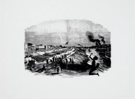 Occupation of Alexandria. Harper's Pictorial History of the Civil War (Annotated)