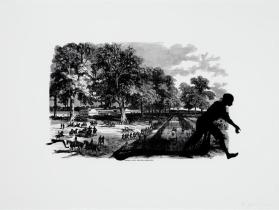 Banks's Army Leaving Simmsport. Harper's Pictorial History of the Civil War (Annotated)