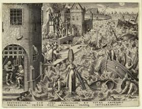 Spes (Hope) from the series The Seven Virtues (after Pieter Brueghel the Elder)