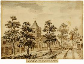 Scene of the Village of Schoonrewoerd