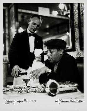Johnny Hodges, Brasserie Lipp, Paris