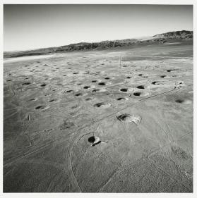 Subsidence Craters on Yucca Flat, Nevada Test Site from The PRC Portfolio