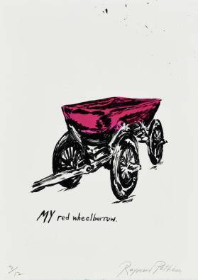 Red Wheelbarrow from the portfolio Jots and Tittles