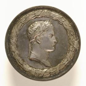 Medal commemorating Napoleon's Death on Saint Helena, France, 1821