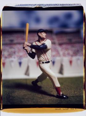 Untitled (Ted Williams) from the series Baseball