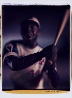 Untitled (Hank Aaron) from the series Baseball