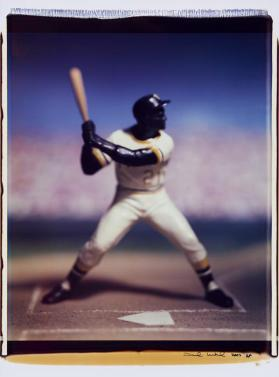 Untitled (Roberto Clemente) from the series Baseball