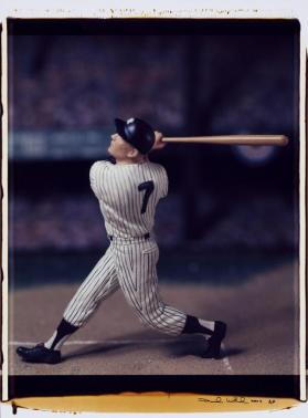 Untitled (Mickey Mantle) from the series Baseball