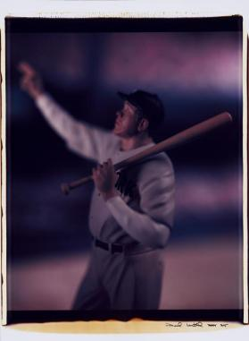 Untitled (Babe Ruth) from the series Baseball