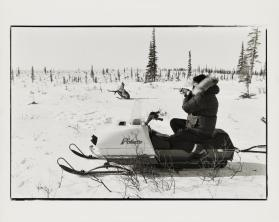 Caribou Hunting Near Ambler Alaska from the series 1973 – 1978: The Last and First Eskimos