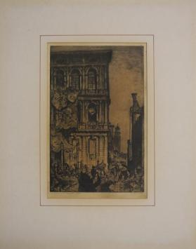 The Architectural Press from the book Architectural Etchings