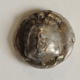 Aegina, Land Turtle with Counterstamp, Silver Stater